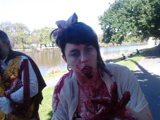 Melbourne Zombie Shuffle 2013 - Zombie Jane Austen