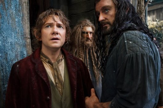 Still: Bilbo, Thorin and Nori