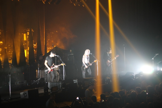 Brody Dalle and band performing at the Sydney Entertainment Centre, 6/3/14.