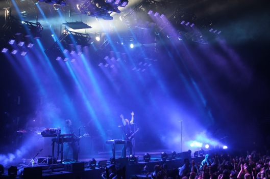 Nine Inch Nails perform at the Sydney Entertainment Centre, 6/3/14.