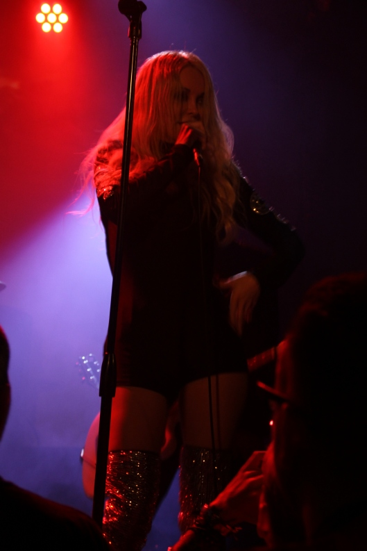 Sweethead front woman Serrina Sims performs at the Oxford Arts Factory, 7/3/14 (technically, it was after midnight)