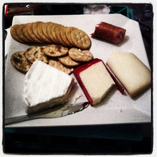 Day 3 - A collection of cheeses for dinner last night, and I didn't even have cheese dreams!