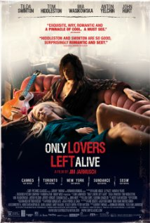 Only Lovers Left Alive theatrical poster