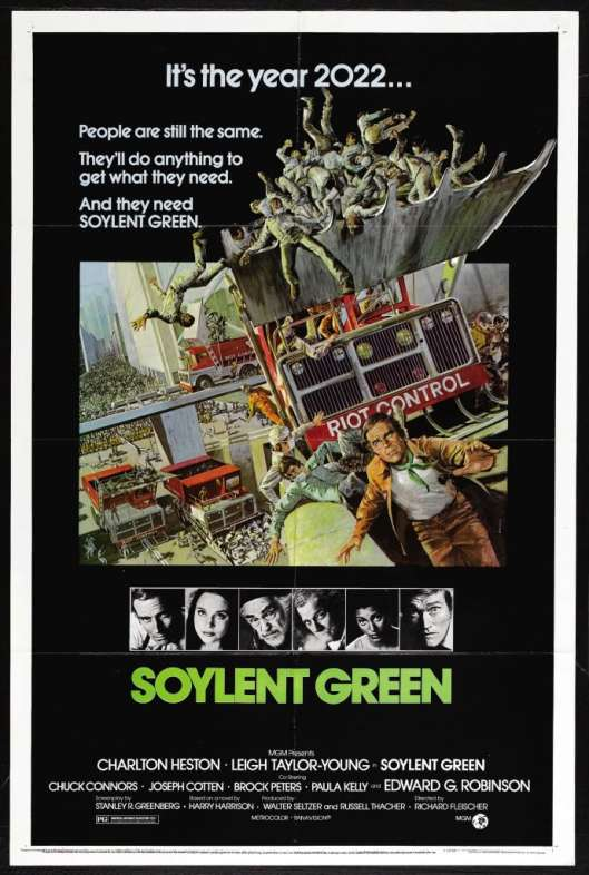 Soylent Green theatrical poster