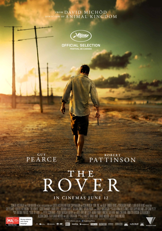 The Rover theatrical poster
