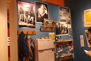 Inside the 'Bohemian Melbourne' exhibition in the State Library