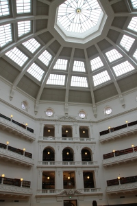Inside the State Library Dome