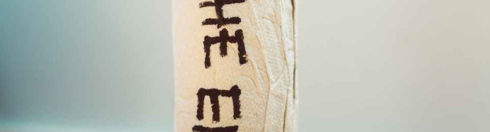 Stock image. An almost spent roll of toilet paper with 'The End' written on it in black texta